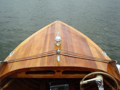 Peterborough Royal bow deck